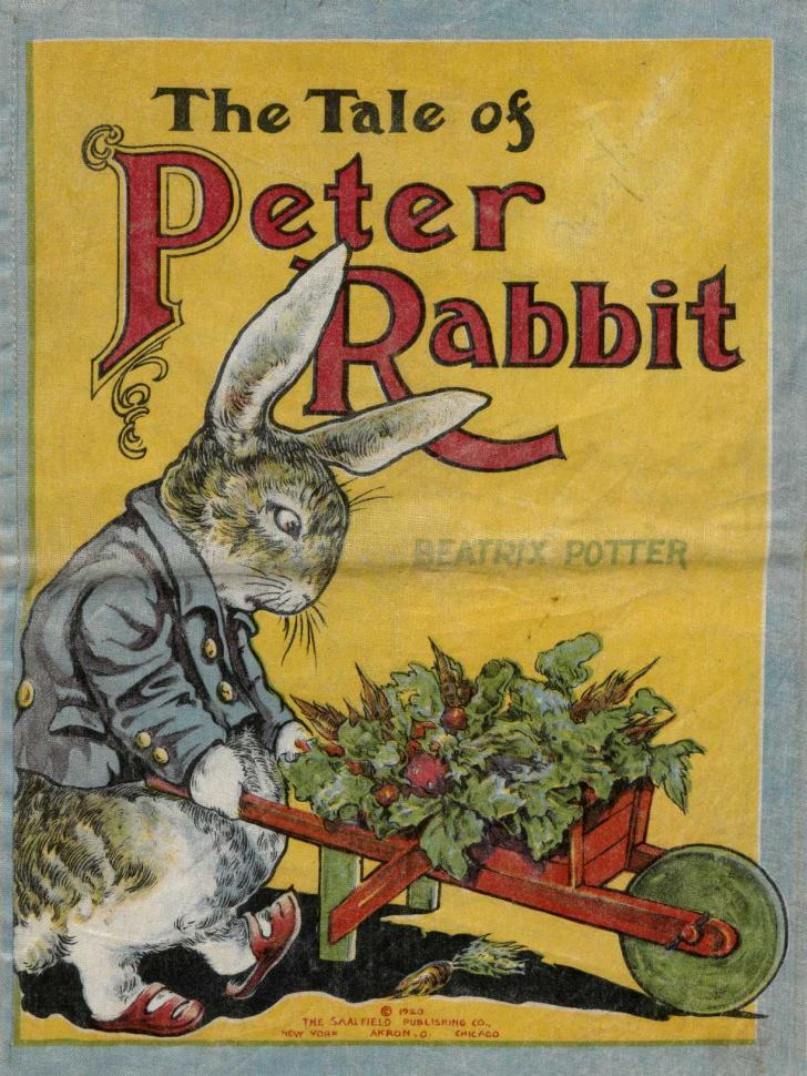 <i>The Tale of Peter Rabbit</i>, écrit et illustré par Beatrix Potter (1920)