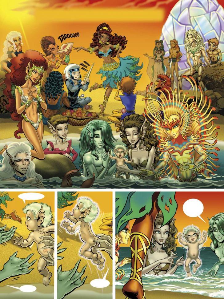 <i>Elfquest</i>, <i>The Final Quest, 1</i>, scénario de Wendy et Richard Pini, dessins de Richard Pini (2015)