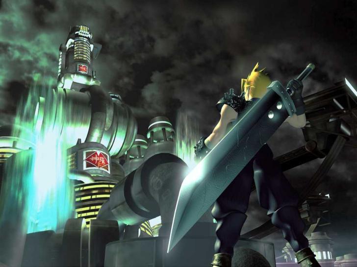 <i>Final Fantasy VII</i>, Key Art (1997)