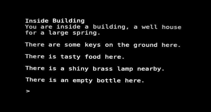 Colossal Cave Adventure, Text adventure game created by William Crowther (1976)
