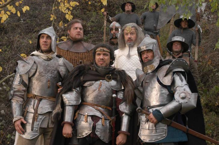 <i>Kaamelott</i>, série télévisée française crée par Alexandre Astier, Alain Kappauf et Jean-Yves Robin (2005 à 2009)