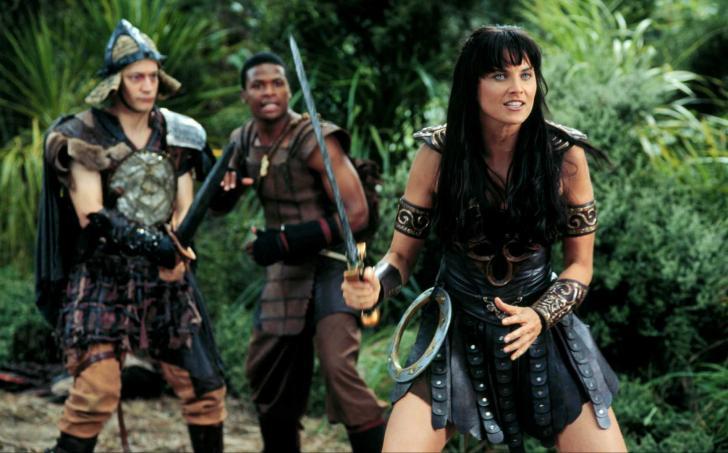 <i>Xena la guerrière</i>, série télévisée américaine et néo-zélandaise crée par Robert Tapert et John Schulian (1995 à 2001)