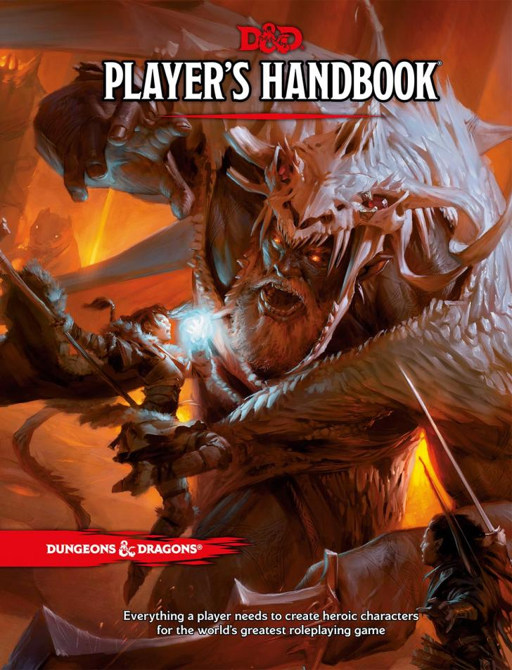 <i>Dungeons & Dragons, Player's Handbook</i>, by Wizards RPG Team (2014)