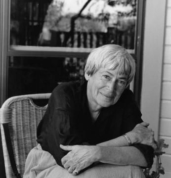 Ursula Le Guin, photographed by Marian Wood Kolisch