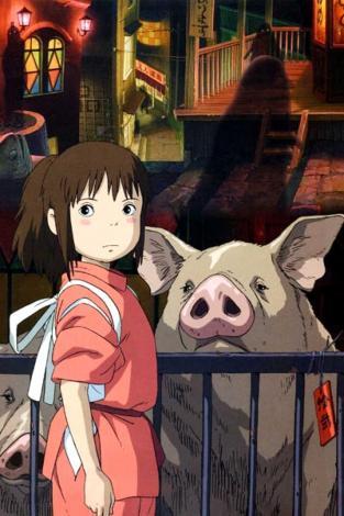 <i>Le voyage de Chihiro</i>, film d'animation d'Hayao Miyazaki (2001)