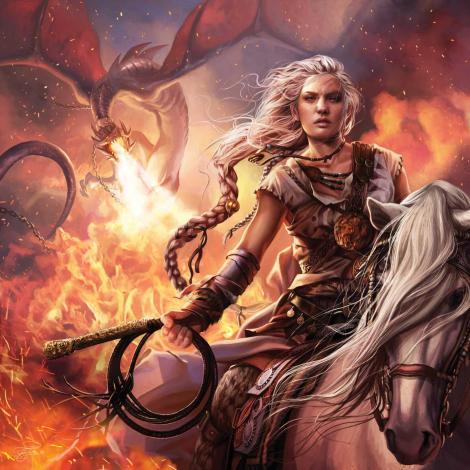 Daenerys Targaryen, A Song of Ice and Fire Calendar, illustration de Magali Villeneuve (2016)