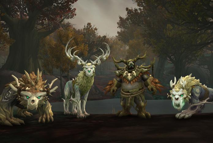 Druides de Kul Tiran, World of Warcraft (Battle for Azeroth), 2018