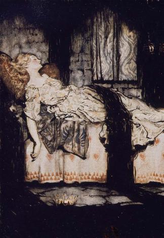 La Belle au bois dormant, Arthur Rackham (1921)