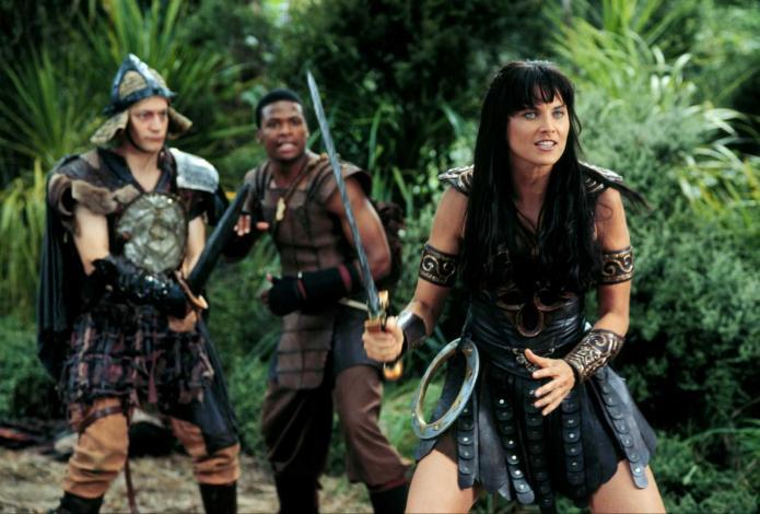Xena la guerrière, série crée par Robert Tapert et John Schulian (1995 à 2001)