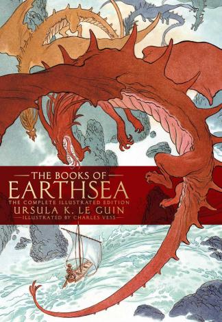 <em>The books of Earthsea</em>, by Ursula Le Guin, illustration by Charles Vess (2019)